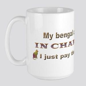 Bengal in Charge Large Mug
